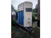 Horse Box / Trailer With Front Doors