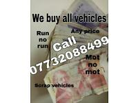 We buy any car van truck or caravan . Mot or no mot . Any conditions.