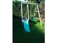 TP climbing frame with quad pod seat