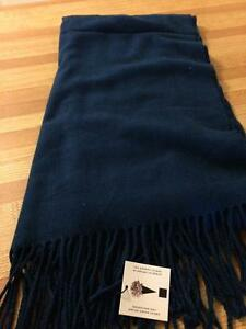 Navy Blue Scarf