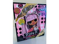 L.O.L. Surprise! O.M.G. Remix Kitty K Fashion Doll LIKE NEW in box, FREE LOCAL DELIVERY 🚚