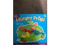 Hungry Frogs game.
