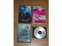 DVDS x 4