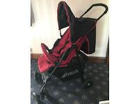 Child`s stroller (Hauck)