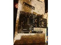 Motherboard, CPU & RAM bundle.