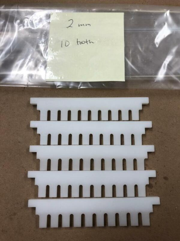 Electrophoresis Comb 1mm 20 tooth LOT OF FIVE