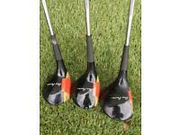 Vintage golf set