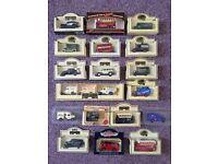 Lledo vintage Collectable Diecast model classic days gone die cast car job lot not matchbox corgi