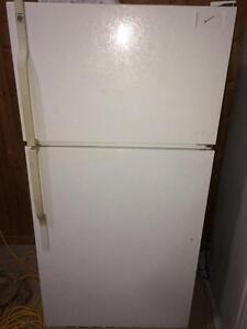 GE Fridge With Top Freezer FREE WARRANTY