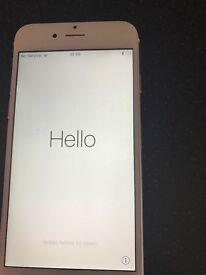 I phone 6 rose gold 16gb