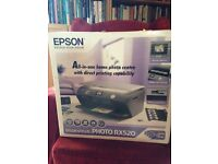 Epsom Stylus Photo RX520 All in one printer/scanner ideal for media student or small business.