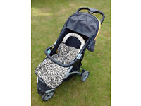 MOTHERCARE PUSHCHAIR 3 WHEEL GOOD CONDITION