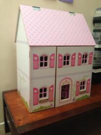 Dolls House 🏡- traditional wooden hand painted