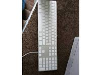 Apple Keyboard with numeric Keypads