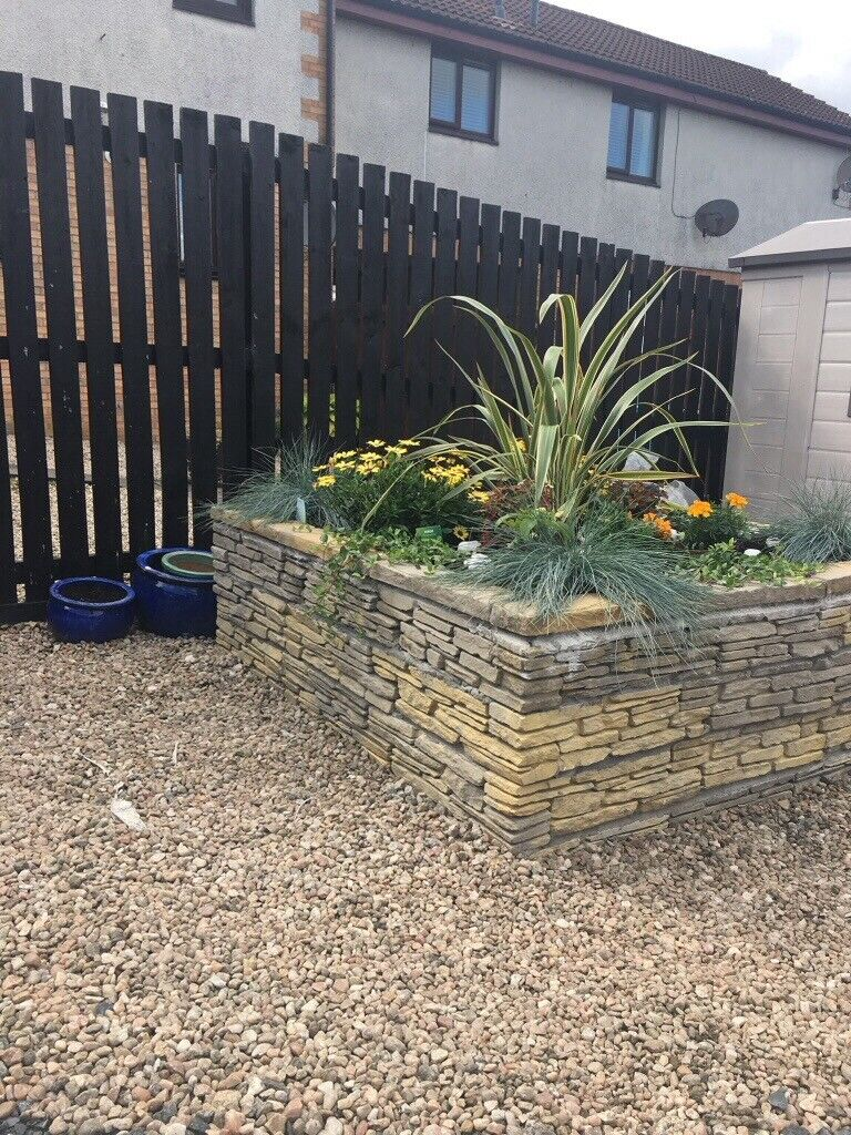 Decorative Bricks Used For Raised Flower Bed In Chryston Glasgow Gumtree