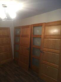 Internal pine 7 doors & handles