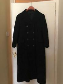 Next black long coat