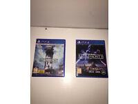PS4 Star Wars Battlefront 1 & 2