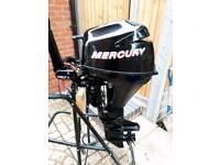 Mercury 8hp 4 stroke outboard enginne