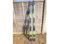 Salomon X-Drive 8.0 FS Skis, 168cm, with XT12 bindings and poles