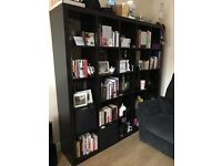 Ikea expedit black/brown shelving unit