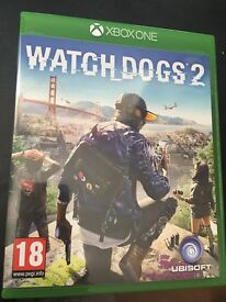 WATCH DOGS 2 on XBOX ONE Used BUT immaculate ... Buying on PS4 Due to Having a PRO