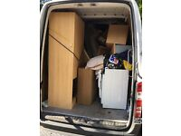£ FREE DELIVERY FOR CARPENTER , HOUSE ROMVALE MAN AND VAN SERVICE RUBBISH CLEARANCE COLLECTION 24/7