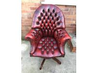 Chesterfield captains directors chair (delivery available)