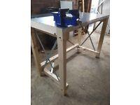 Workbench brand new with 100mm clarke vice