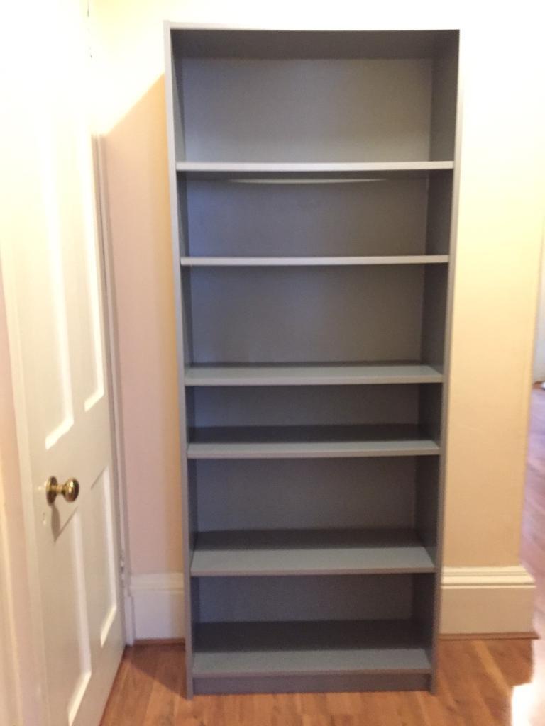Bookcase. Ikea Billy Tall 6 shelf bookcase. Grey | in ...