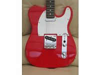 Telecaster copy starter pack – Guitar, amp, lead, strap, gig bag
