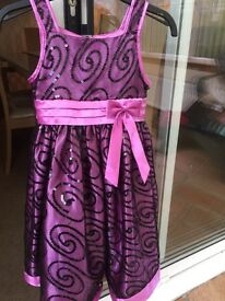 Girls party dress ideal for xmas