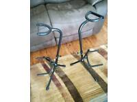2 no Stagg guitar stands