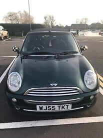 Racing Green Mini Convertible 1.6