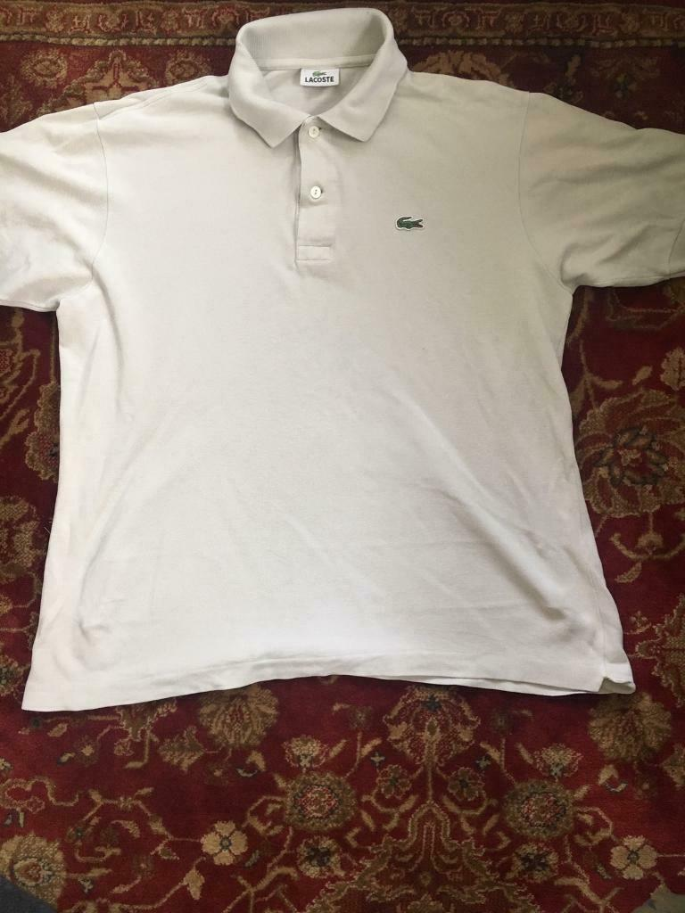 265886fa Lacoste White Polo Shirt | in Wednesbury, West Midlands | Gumtree