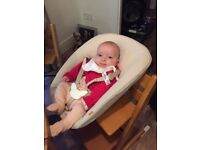 Tripp Trapp High Chair with baby attachment