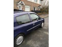 2002 renault clio for sale