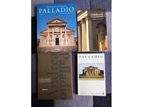 4 x Palladio Books (excellent condition)