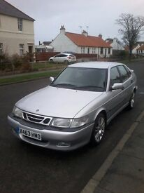 GOOD SAAB 93 AERO 2 Litre TURBO 1 lady owner ,1years mot, full service history will go up in value