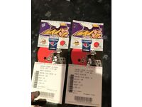 2 x NFL London Tickets (Vikings Vs Browns) - £60 Each - Saving £56 total on Face Value