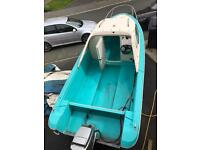 Shetland 536 fisherman fishing boat and trailer(reduced to sell!!)