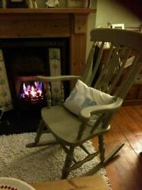 stunning rocking chair farrow and ball paint