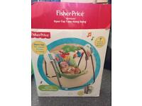 Fisher Price Rainforest Open Top Swing