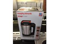 MORPHY RICHARDS SOUP MAKER BRAND NEW IN THE BOX🌎🌎