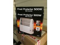 Frost protector electric heater £5
