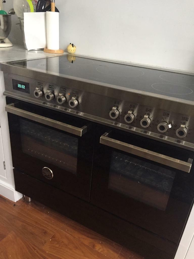 Bertazzoni two oven range with induction hob
