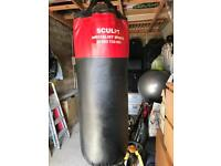 Punch Bag with mits