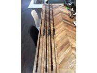 Rod Hutchinson Carp Rods x3 2.75lb tc