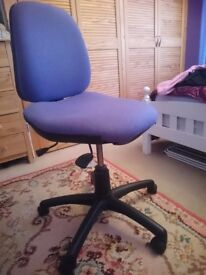 Office chair purple