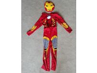 Iron Man costume and mask age 5-6